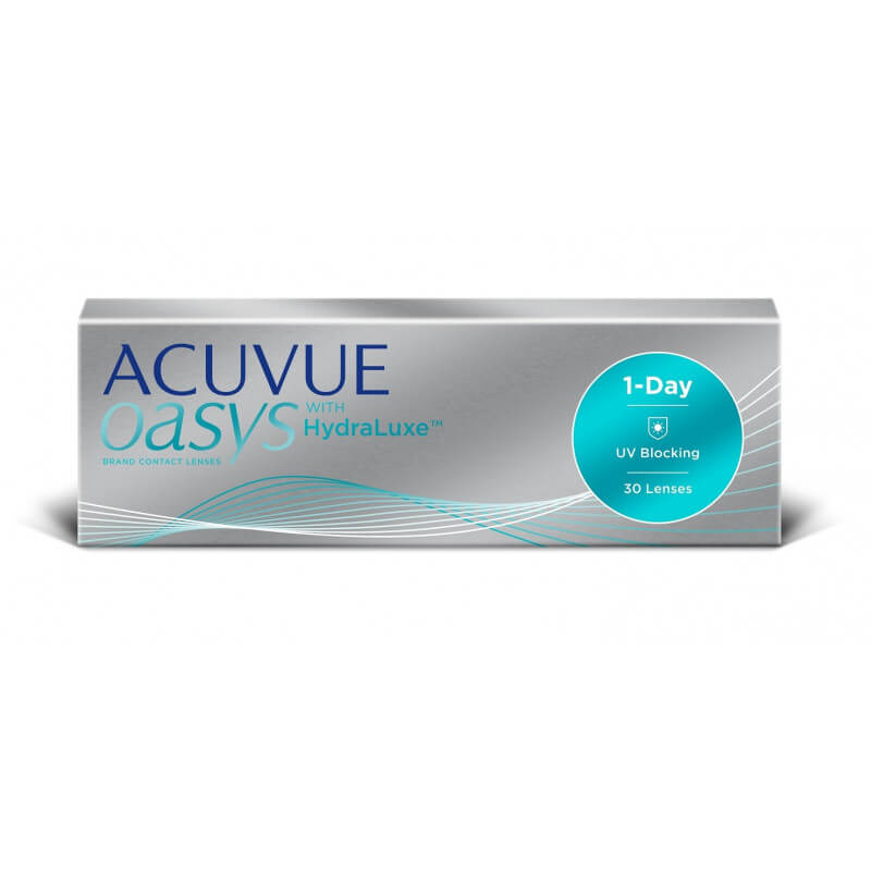 Acuvue Oasys 1-Day with HydraLuxe (30/90)