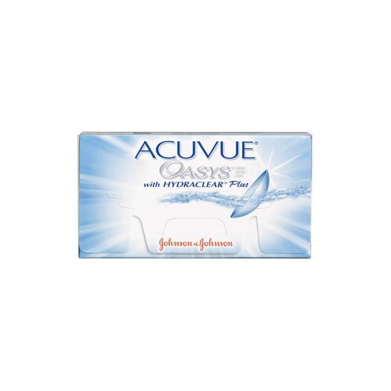 Acuvue Oasys with Hydraclear Plus (6/12/24)