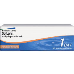 Soflens Daily Disposable Toric For Astigmatism (30)