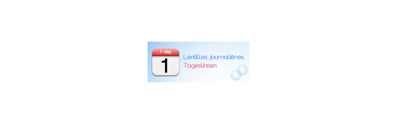 Lentilles journalières